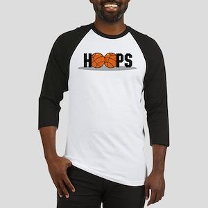 HOOPS *2* {black} Baseball Jersey