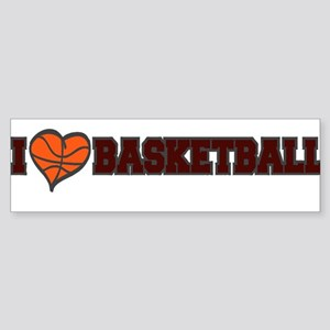 I {heart} BASKETBALL *1* {cri Sticker (Bumper)
