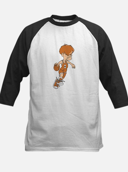 BASKETBALL *40* {lt orange} Kids Baseball Jersey
