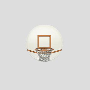 BASKETBALL *41* {orange} Mini Button