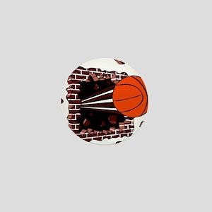 BASKETBALL *42* {cimson} Mini Button