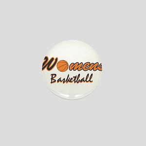 WOMENS BASKETBALL *1* {orange Mini Button