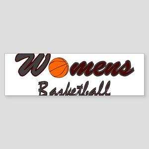 WOMENS BASKETBALL *1* {crimso Sticker (Bumper)