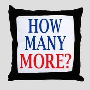 How Many More? Throw Pillow