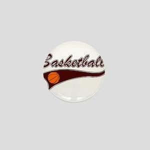 BASKETBALL *46* {crimson} Mini Button