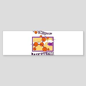 SCIENCE OF.. {purple} Sticker (Bumper)
