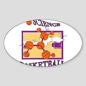SCIENCE OF.. {purple} Sticker (Oval)