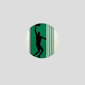 BASKETBALL *47* {green} Mini Button