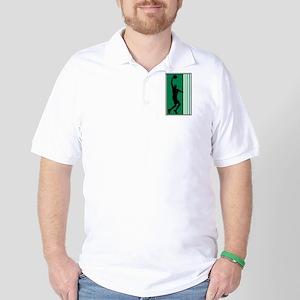 BASKETBALL *47* {green} Golf Shirt