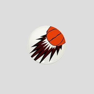 BASKETBALL *49* {crimson} Mini Button