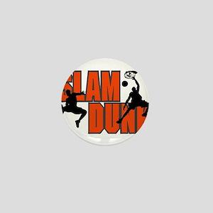 SLAM DUNK *1* {orange} Mini Button