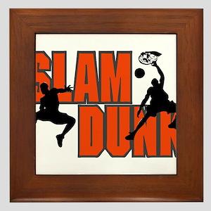 SLAM DUNK *1* {orange} Framed Tile