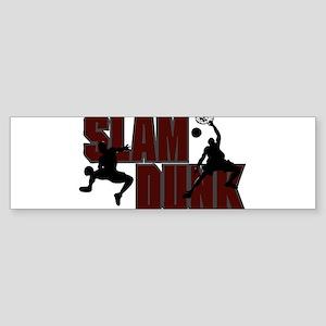 SLAM DUNK *1* {crimson} Sticker (Bumper)