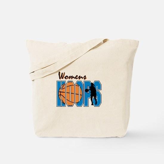 WOMENS HOOPS *1* {blue} Tote Bag