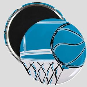 BASKETBALL *52* {blue} Magnet