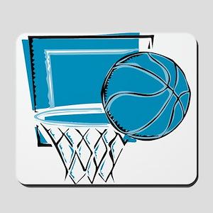 BASKETBALL *52* {blue} Mousepad
