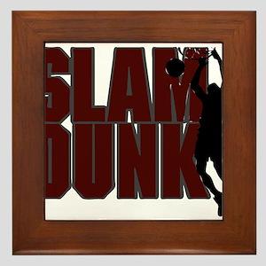 SLAM DUNK *2* {crimson} Framed Tile