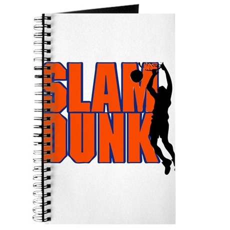 SLAM DUNK *2* {orange/blue} Journal