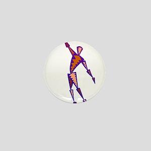 BASKETBALL *56* {purpleish} Mini Button