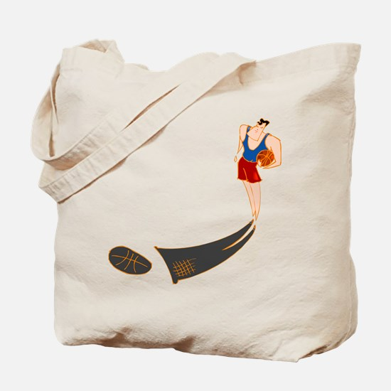 BASKETBALL *57* {red/blue} Tote Bag