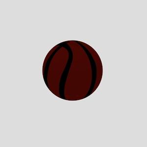 BASKETBALL *60* {crimson} Mini Button