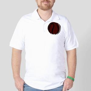 BASKETBALL *60* {crimson} Golf Shirt