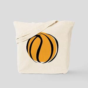 BASKETBALL *60* {yellow} Tote Bag