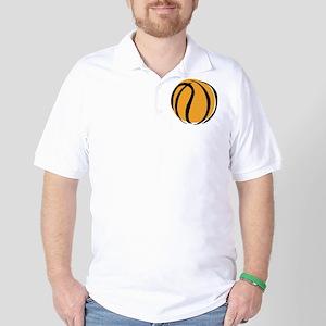 BASKETBALL *60* {yellow} Golf Shirt