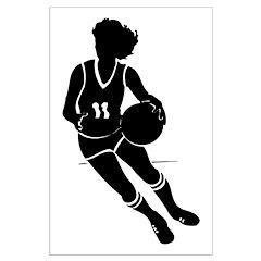 BASKETBALL *61* {black} Posters