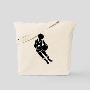 BASKETBALL *61* {black} Tote Bag