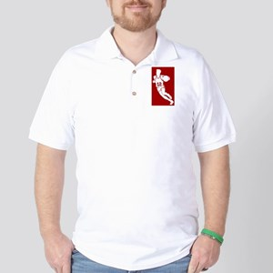 BASKETBALL *62* {red} Golf Shirt
