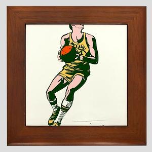 BASKETBALL *64* Framed Tile