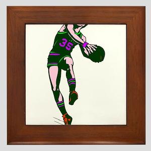 BASKETBALL *67* Framed Tile