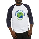 'Geography is my World' Baseball Jersey
