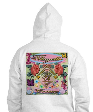 Hoodie with vibrant colors