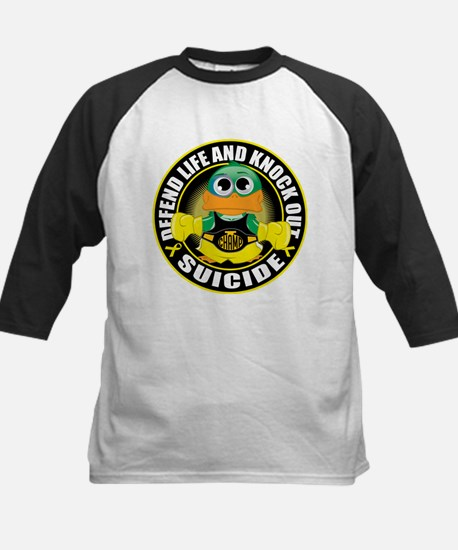 Knock Out Suicide Kids Baseball Jersey