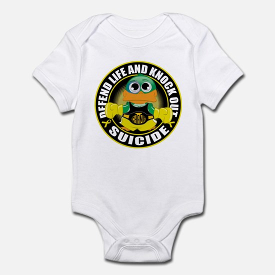 Knock Out Suicide Infant Bodysuit