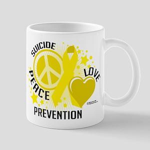 Suicide Peace Love Prevention Mug