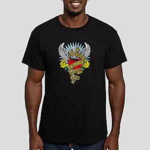 Suicide Prevention Dagger Men's Fitted T-Shirt (da