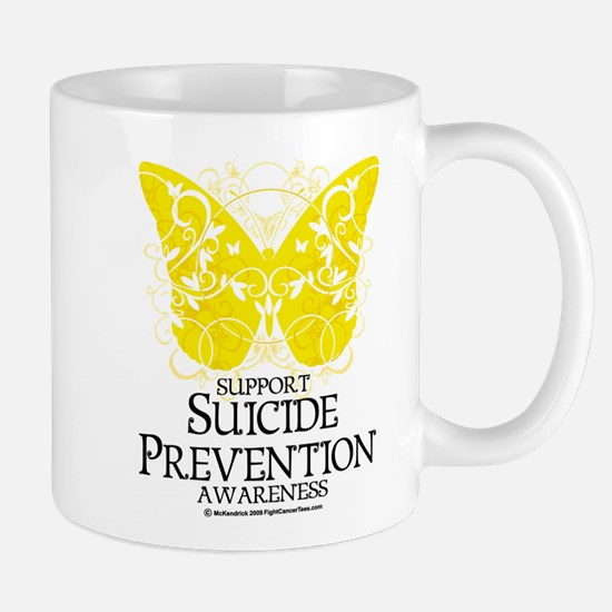 Suicide Prevention Butterfly Mug