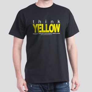 Suicide Prevention Think Yell Dark T-Shirt