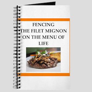 Fencing joke Journal