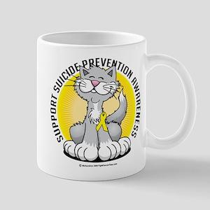 Suicide Prevention Cat Mug