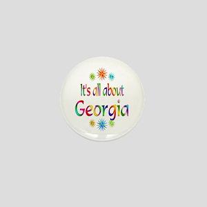 Georgia Mini Button