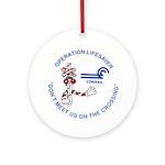 Conrail Safety Ornament (Round)
