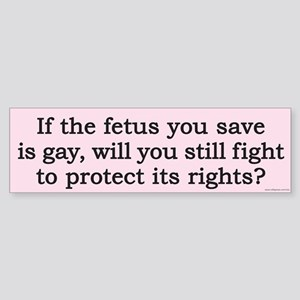 fetusBS Bumper Sticker