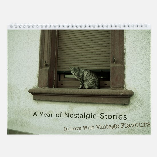 A Year of Nostalgic Stories Vintage Calendar