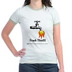 Frack This Jr. Ringer T-Shirt