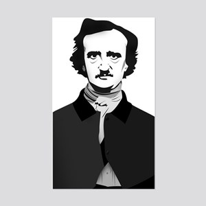 Edgar Allan Poe Sticker (Rectangle)