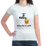 What The Frack Jr. Ringer T-Shirt